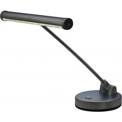 Lampe de piano led Stagg noir