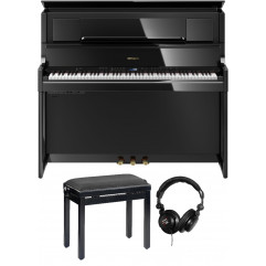 Roland LX 708 noir laqué pack premium