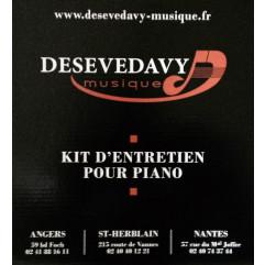 Kit complet d'entretien pour pianos laqués