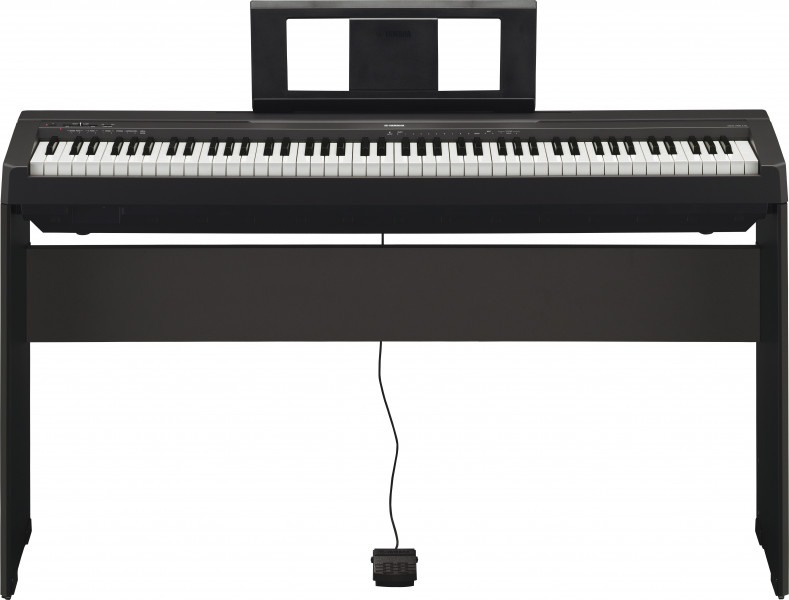 piano num rique yamaha p45 avec meuble dor lami. Black Bedroom Furniture Sets. Home Design Ideas