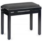 Banquette piano Stagg PB BKP VBK noir brillant