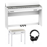 Roland F701 WH blanc pack premium
