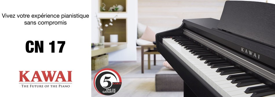 Présentation piano Kawai CN 17