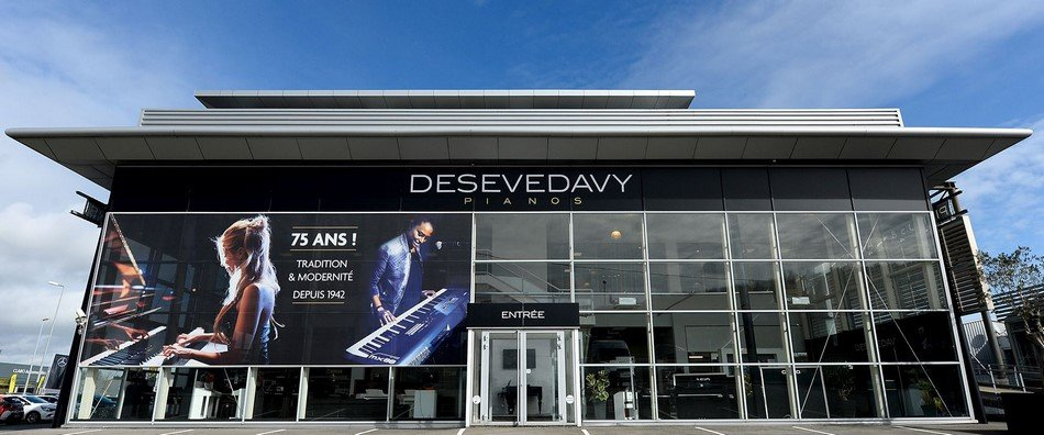 Photo du magasin Desevedavy Pianos à Orvault