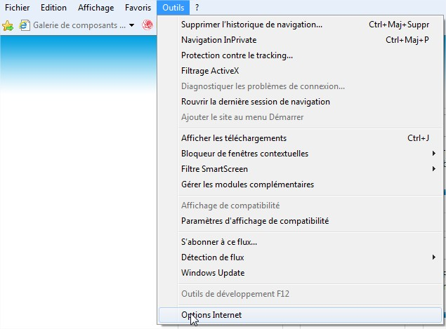 activer cookies internet explorer